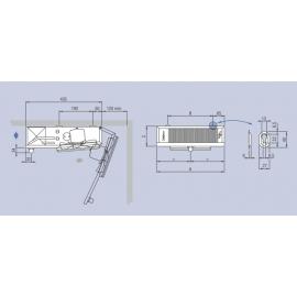 Aeroevaporatore EVS/B 130 ED