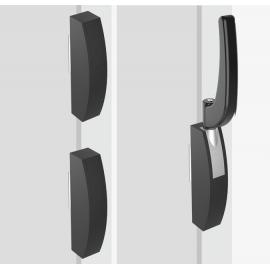 Maniglia INTERTECNICA per porte a tampone Cella Frigo Mod. 3050 Tre punti di chiusura
