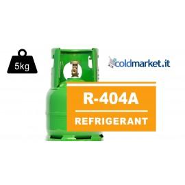 R404A bombola gas refrigerante 5kg
