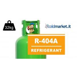 R404A bombola gas refrigerante 32kg