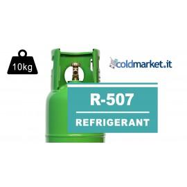 R507 bombola gas refrigerante 10kg
