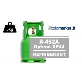 R452A Opteon XP44 bombola gas refrigerante 5kg