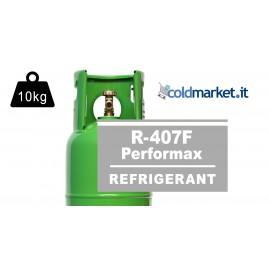 R407F Performax LT bombola gas refrigerante 10kg