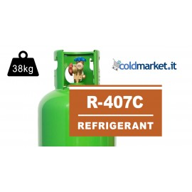 R407C bombola gas refrigerante 38Kg