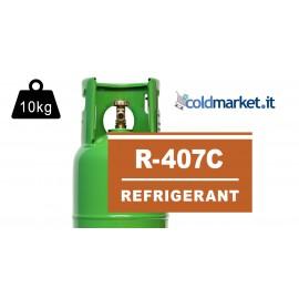 R407C bombola gas refrigerante 10 kg
