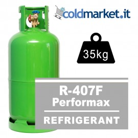 R407F Performax LT bombola gas refrigerante 35kg