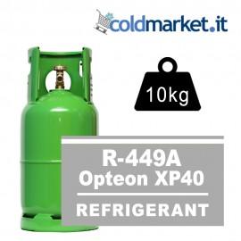 R449A Opteon XP40 bombola gas refrigerante 5kg