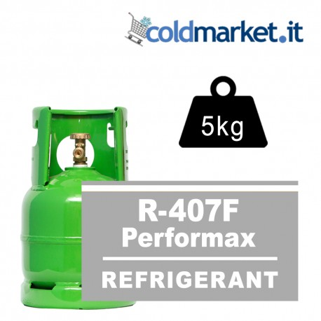 R407F Performax LT bombola gas refrigerante 5kg