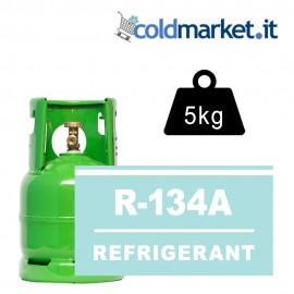 R134A bombola gas refrigerante 5kg