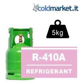 R410A bombola gas refrigerante 5kg
