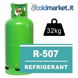 R507 bombola gas refrigerante 32kg