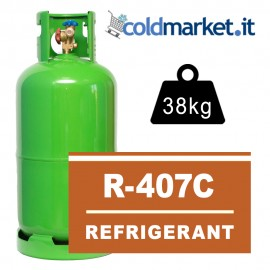 R407C Bombola - 38 Kg