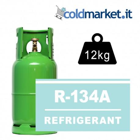 R134A bombola gas refrigerante 12kg