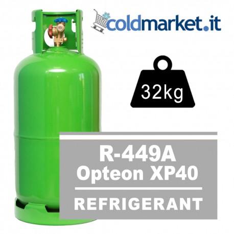 R449A Opteon XP40 bombola gas refrigerante 32kg