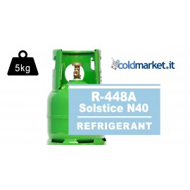 R448A Solstice N40 bombola gas refrigerante 5kg