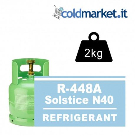 R448A Solstice N40 bombola gas refrigerante 2kg