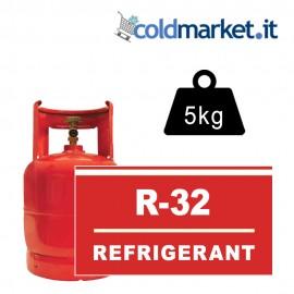 R32 bombola gas refrigerante 5 kg