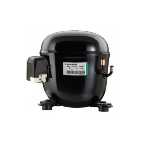3S MOTORE Compressore R404A r507 1 Hp 22,4 cm3 Embraco Aspera NT6226GK CSR BOX