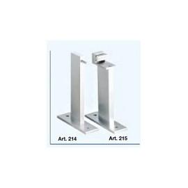 Staffa a muro per profili guidovia - Sporgenza parete/asse profili mm.310