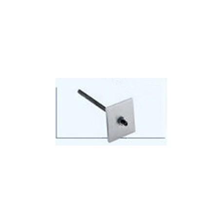 Accessorio per aggancio a soffitto (piastra art. 236, perno filettato MA10, dadi)
